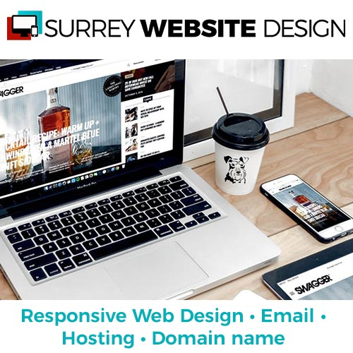 Surrey website design